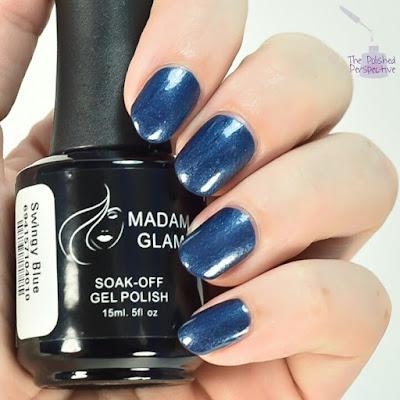 madam glam swingy blue swatch