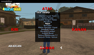 Cheat Cleo Bahasa Indonesia GTA SA Android