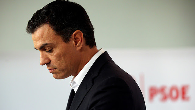 España: Pedro Sánchez dimite como secretario general del Partido Socialista