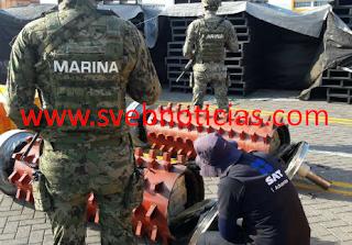 Localizan y aseguran mas de media tonelada de Cocaina en Manzanillo Colima