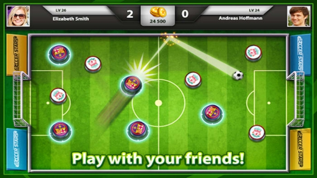 soccer stars hileli apk indir