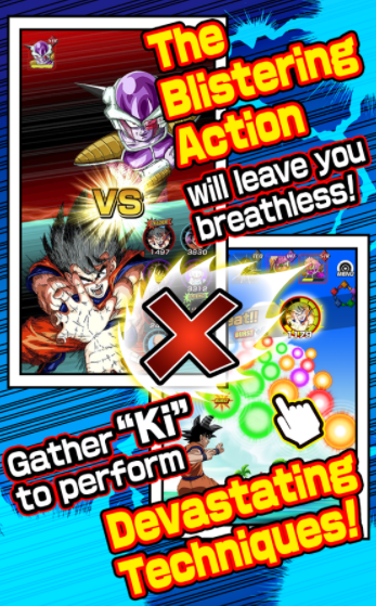 Dragon Ball Z Dokkan Battle Online Free Download for ios android