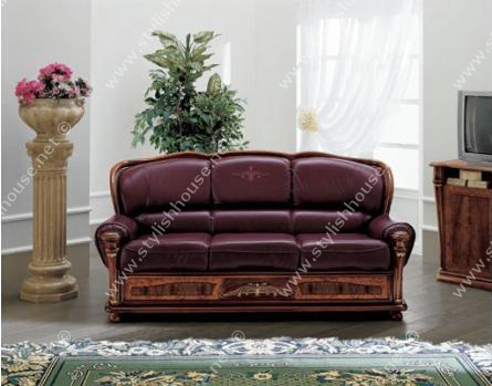 lovely purple leather living room furniture set | lovely Italian Leather living room furniture Set - Stylish ...