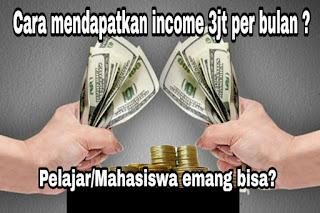 Cara mendapatkan uang dengan cepat tanpa modal