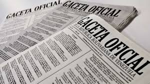 Gaceta Oficial Nº 41.594 declara Jueves 28 y Viernes 1º  días no laborables en sectores público y privado