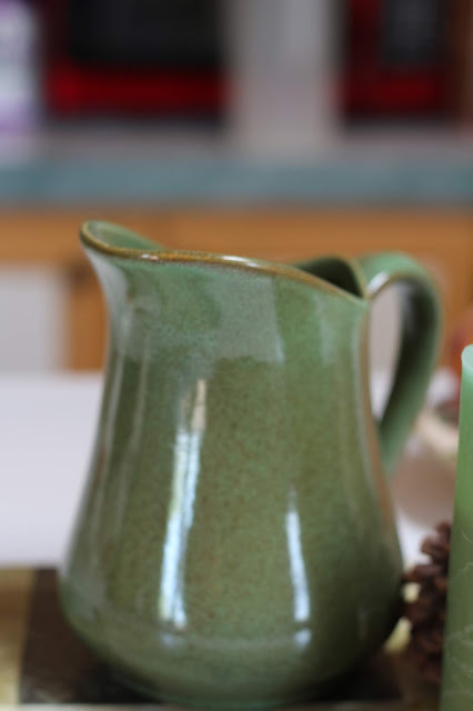 A Lovely hand Crafted Sage Green Pitcher, Living From Glory To Glory Blog...