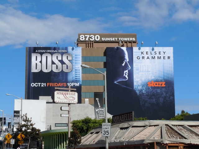 Giant Boss TV billboards