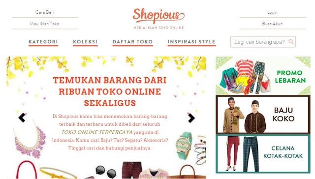 Shopious.com Direktori Toko Online Fashion Terlengkap dan Terpercaya
