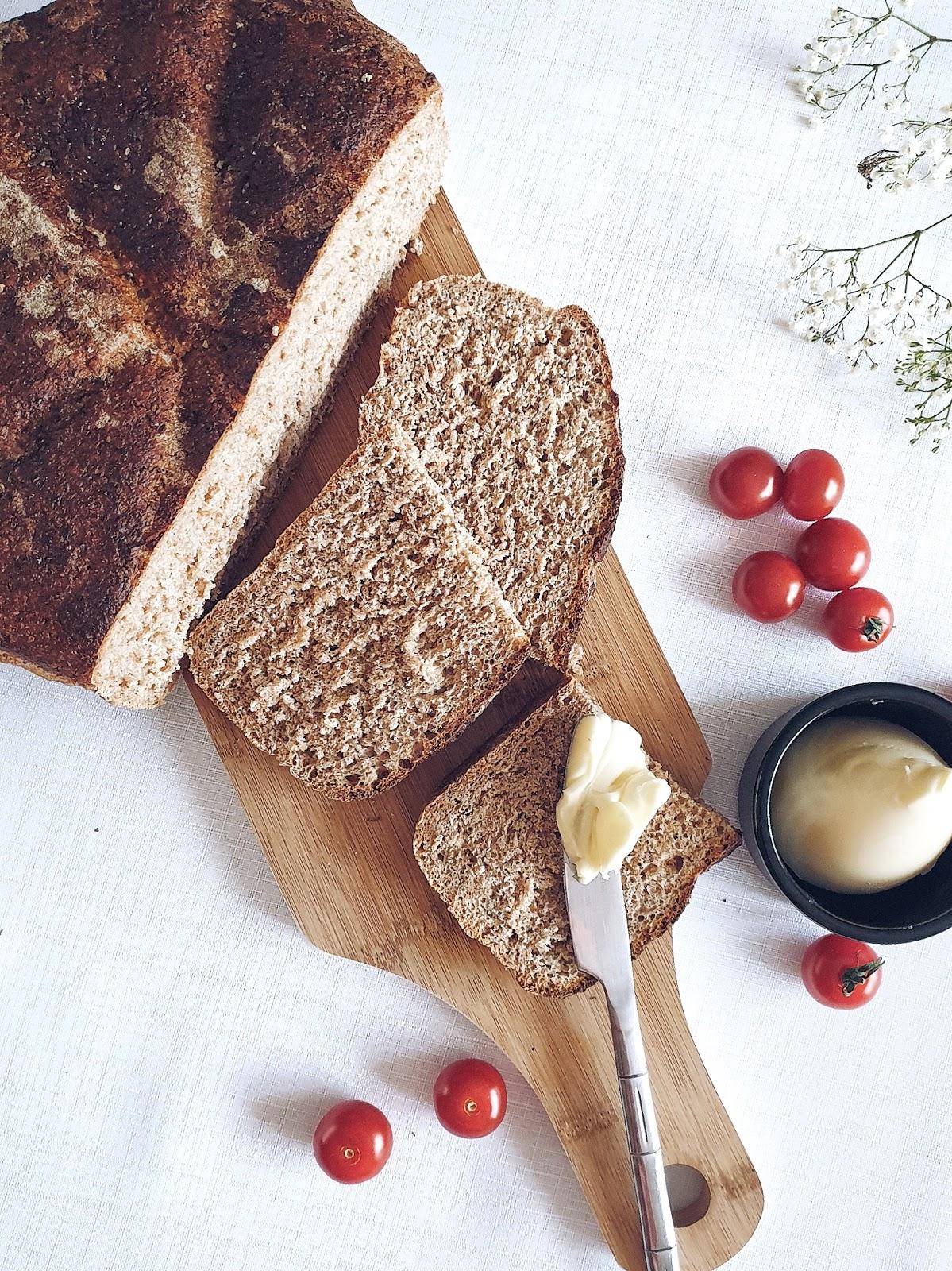 Chleb Graham czyli nasz rodzinnie ulubiony chleb razowy