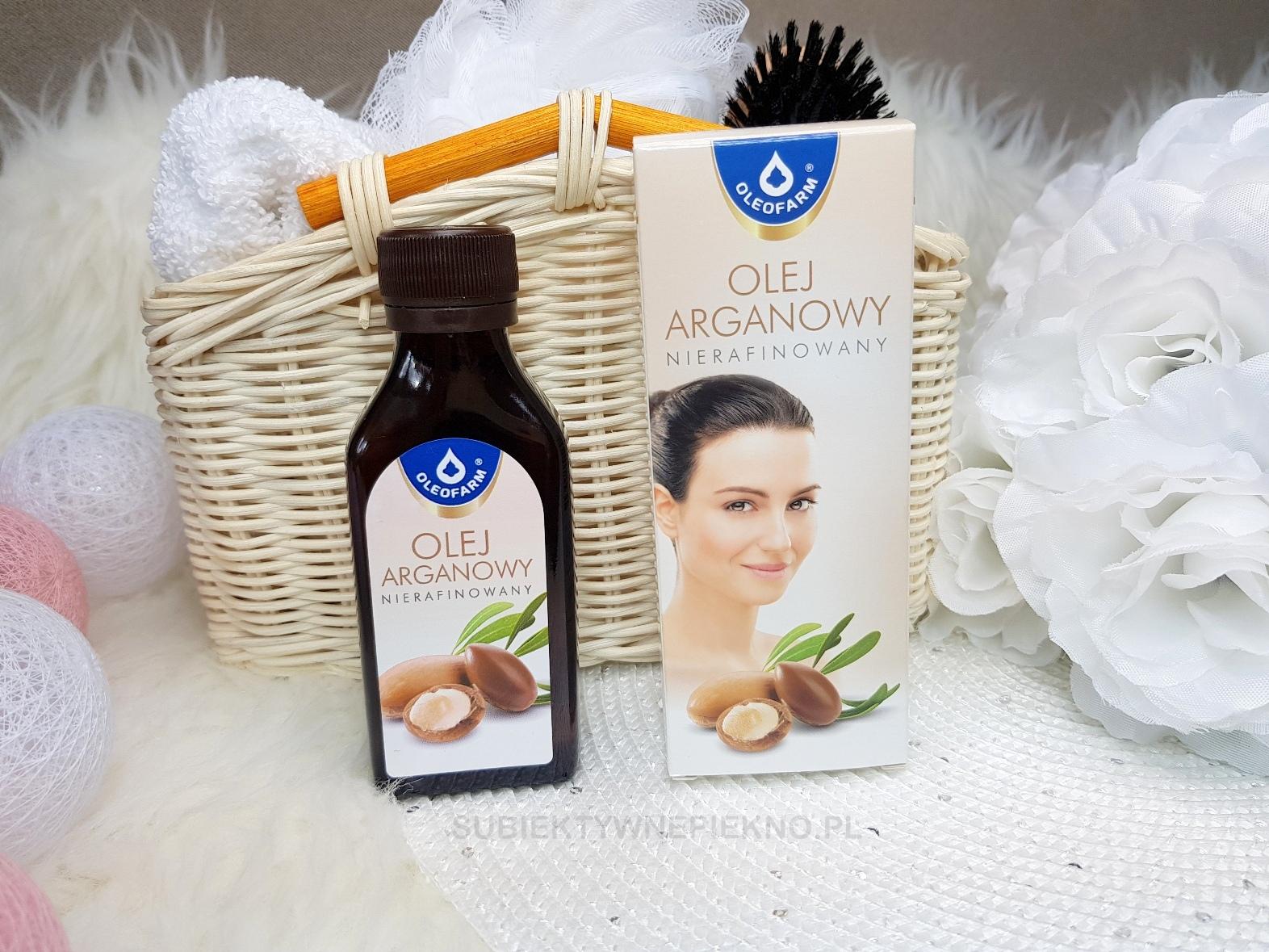 Nierafinowany olej arganowy Oleofarm | Olejowanie włosów
