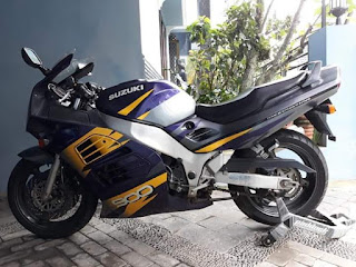 Dijual moge Jadoel Suzuki RF900