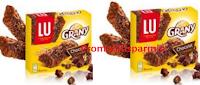 Logo Diventa tester delle barrette LU Grany Bars Chocolat