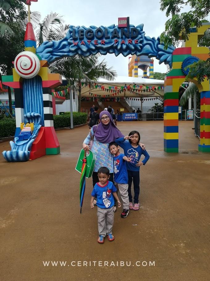 Splash Time @ Waterpark Legoland Malaysia