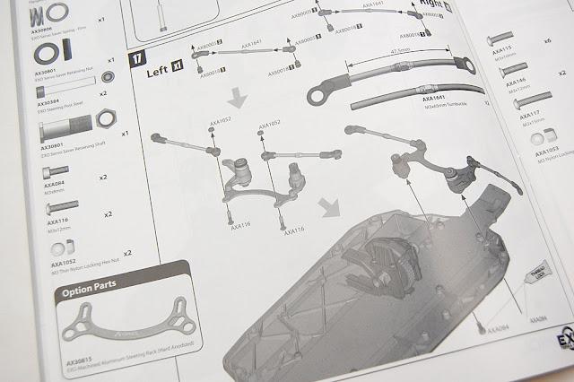 Axial Exo Terra assembly manual