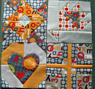 Quilt Blocks from The Splendid Sampler