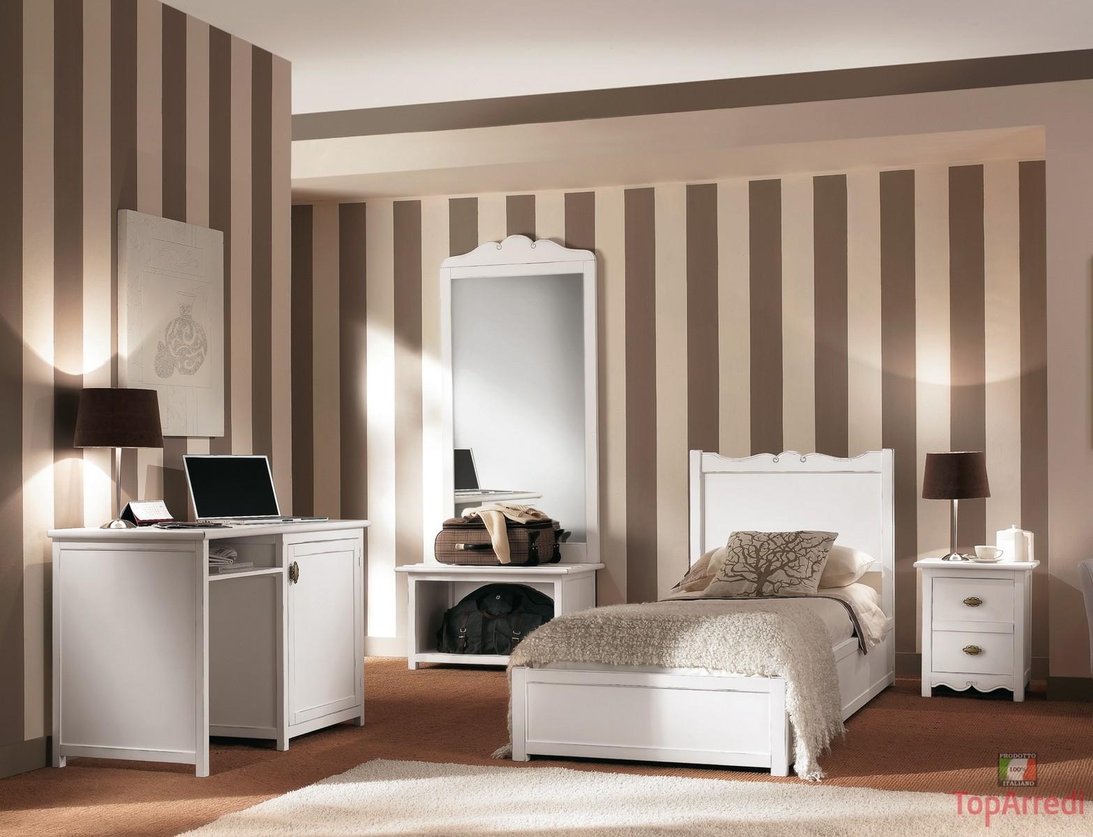 Arredamento e mobili online camere da letto country luce for Camere da letto on line
