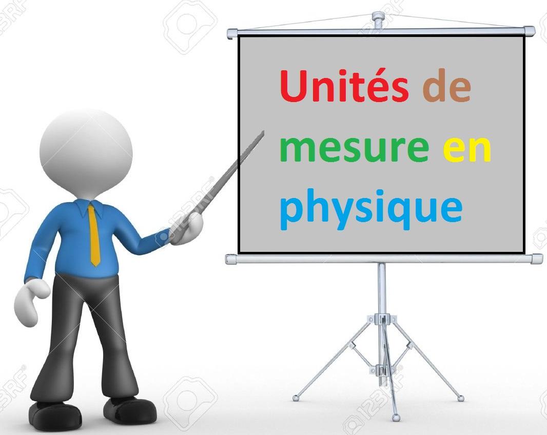unite de base de mesure en physique