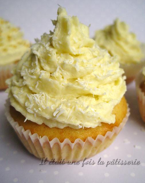 Cupcakes à la crème de noix de coco