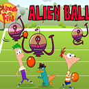 Phineas and Ferb Alien Ball juego