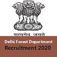 Delhi Forest Guard, Forest Ranger, Wildlife Guard Recruitment  2020