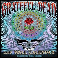 Grateful Dead 2018 Calendar
