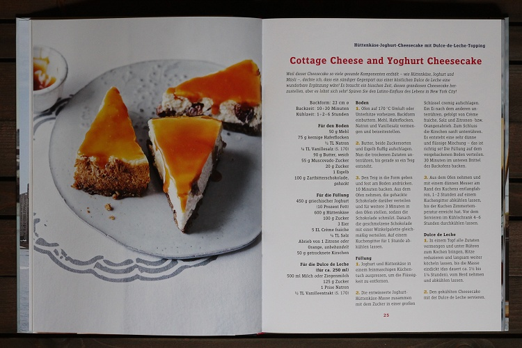 Rezension/Buchvorstellung Cynthia Barcomi - Cheesecakes, Pies & Tartes 3