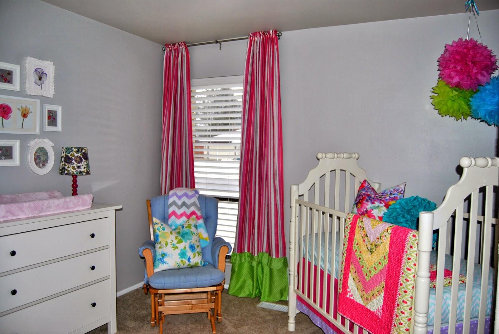 Studio 7 Interior Design Client Reveal Colorful Nursery