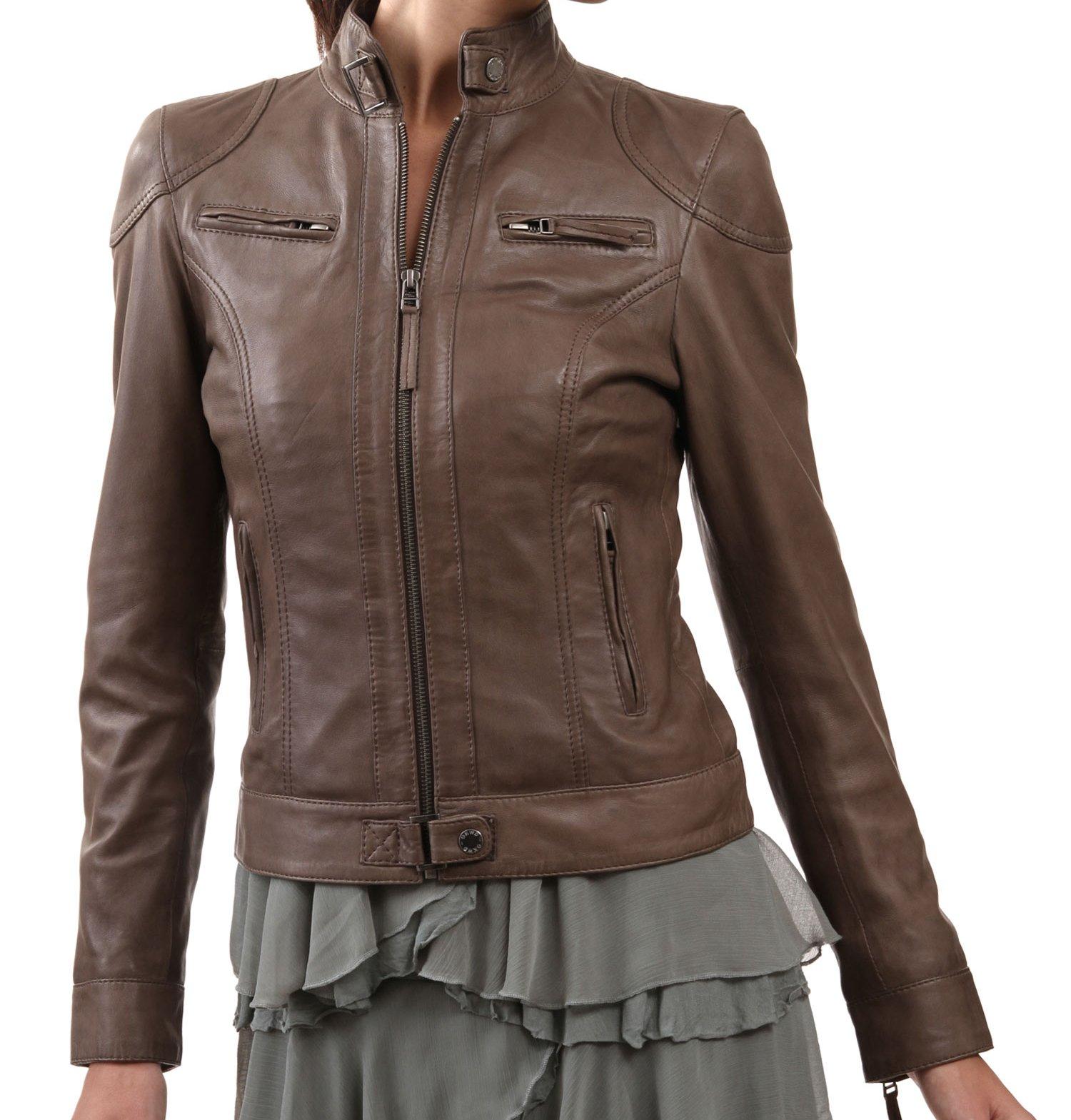 Kulit Wanita Berikut Adalah Gambar Model Model Jaket Kulit Terbaru