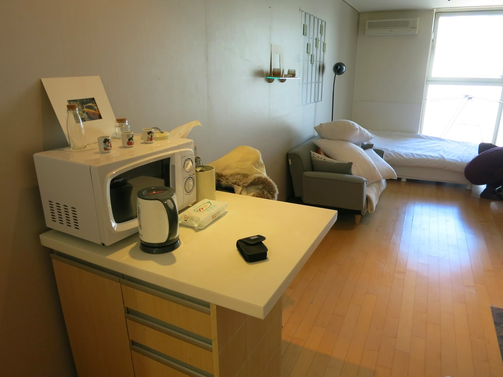 Seoulians' Studio in Hongdae booked on Airbnb