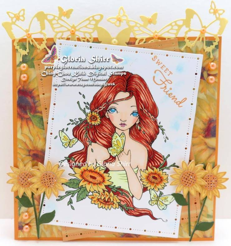 Featured Card The Fairy and The Unicorn Challenge Blog