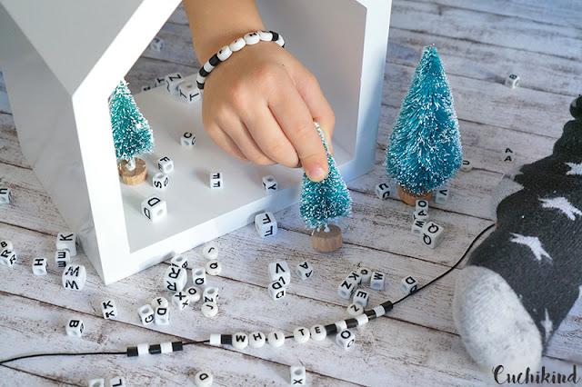 Weihnachtsdeko schwarz weiß