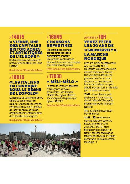 Mai de l'Europe fête les 20 ans de la Marche Nordique le 9 Avril 2017 avec Arja Jalkanen-Meyer