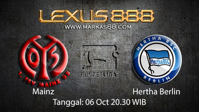 Prediksi Bola Jitu Mainz vs Hertha Berlin 6 Oktober 2018 ( German Bundesliga )