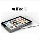 APPLE iPad 3 (1GB/16GB/4G) Rp 6,250,000 (W), Rp 6,400,000 (B)