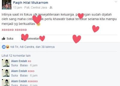 Status xoxoxo facebook menurut islam