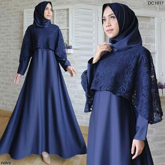 Model Kebaya Gamis Modifikasi Untuk Wanita Gemuk