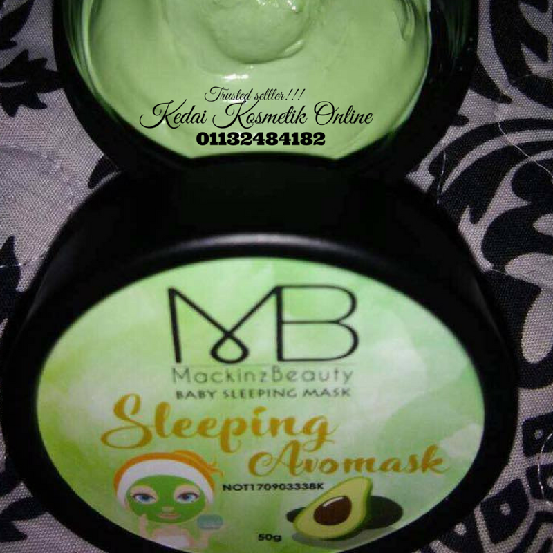 SLEEPING MASK BY MACKINZ