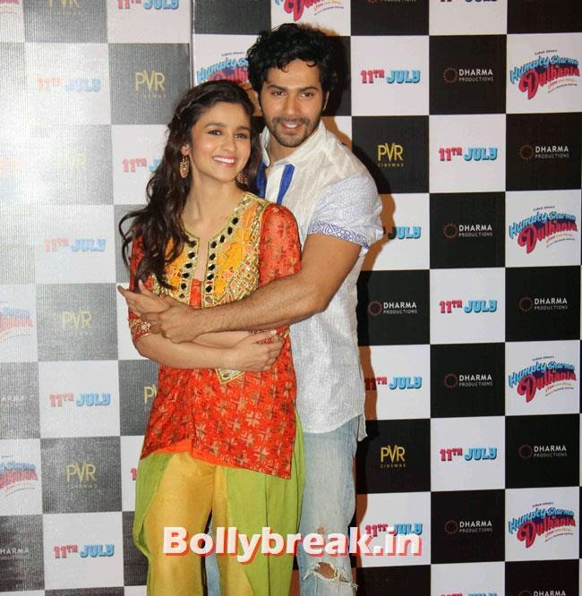 Alia Bhatt and Varun Dhawan, Alia & Varun Sizzle at Humpty Sharma Ki Dulhania First Look Launch