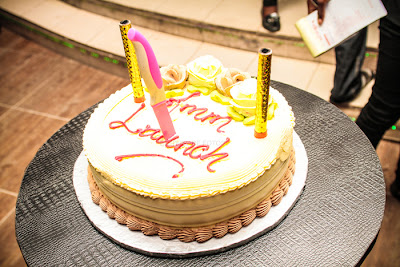 African Muzik Magazine launch cake