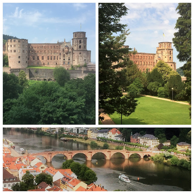 Old Bridge and Heidelberg Castle