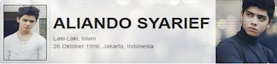 gambar Profil Biodata Aliando Syarief foto terbaru