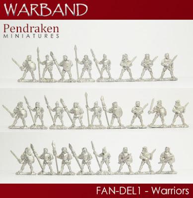 FAN-DEL1   25 x Warriors