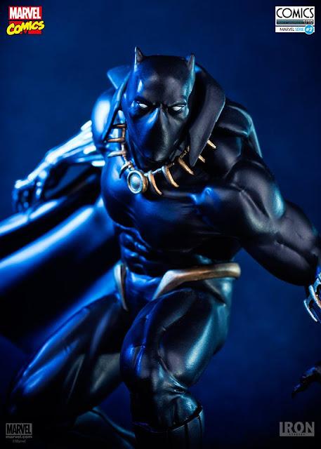 Estátua Pantera Negra Iron Studios