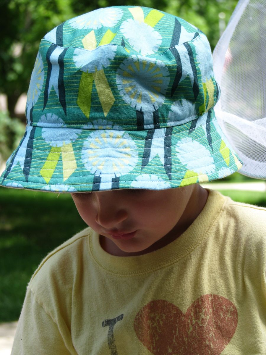 Summer Bucket Hat for Elliot - Made By Rae 43511ca49e2f