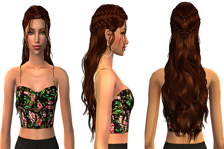 Liana Sims2 - Clothes for your Sims - free downloads to