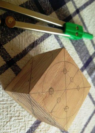 1 cara bikin dadu dari kayu