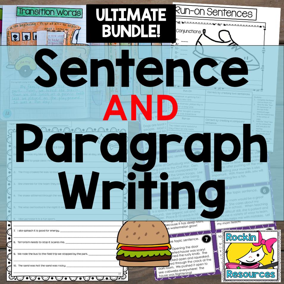 Three sentence essay