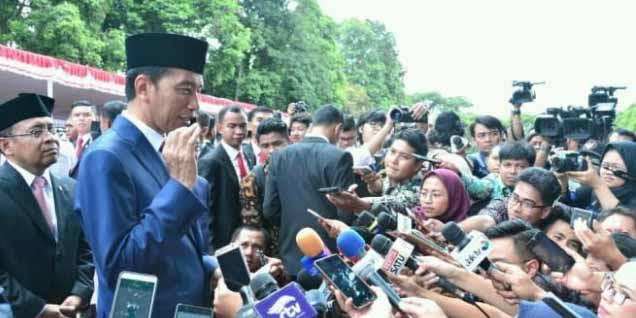 Ditanya Setnov, Jokowi 'Tanyakan KPK', Ditanya Senjata 'Tanyakan Menkopolhukam'