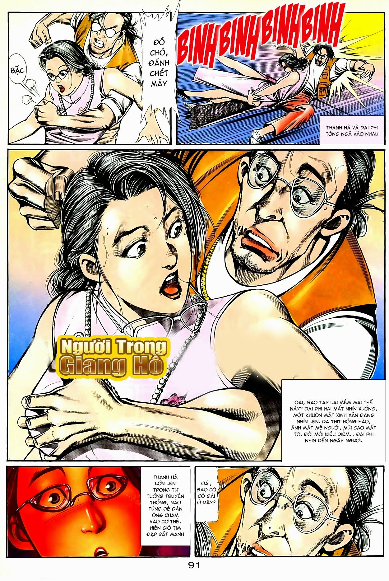 Người Trong Giang Hồ chapter 90: giang hồ hiểm trang 27