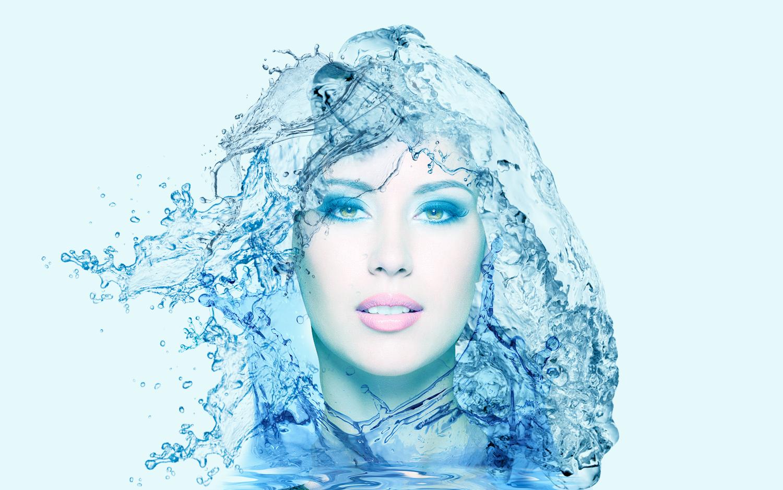Dibujos Para Photoshop: Trabajos De Sandra.: Dibujo Efectos De Agua Con Photoshop